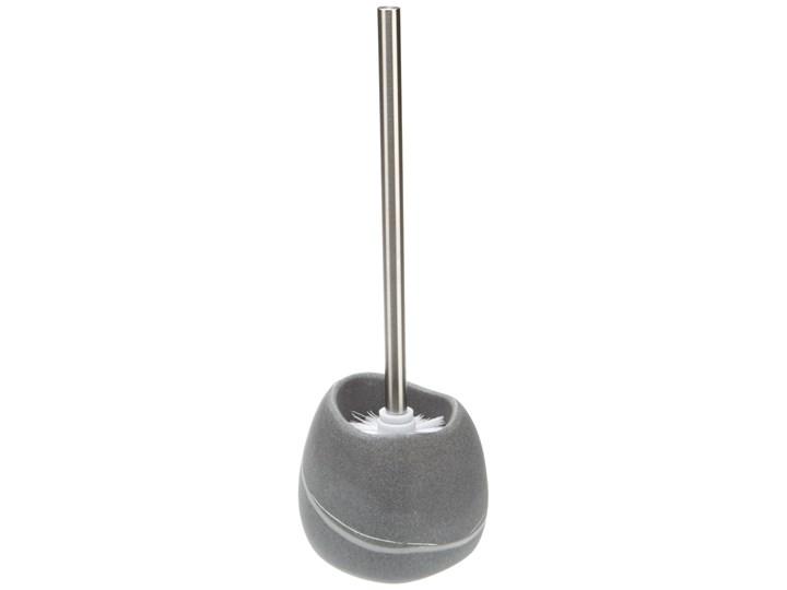 Pojemnik na szczotkę POLY + szczotka WC, ZELLER Wolnostojące Metal Tworzywo sztuczne Żywica poliestrowa