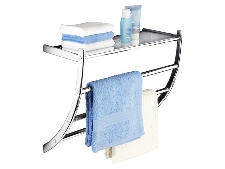 Wieszak na ręczniki PASCARA + półka łazienkowa, 2 w 1, WENKO