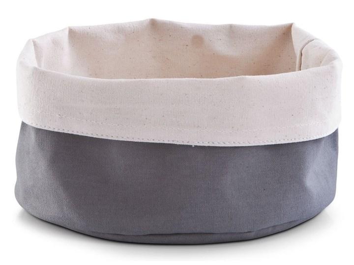 Koszyk na chleb, pieczywo - Ø20x12 cm, ZELLER Tkanina Koszyk na pieczywo