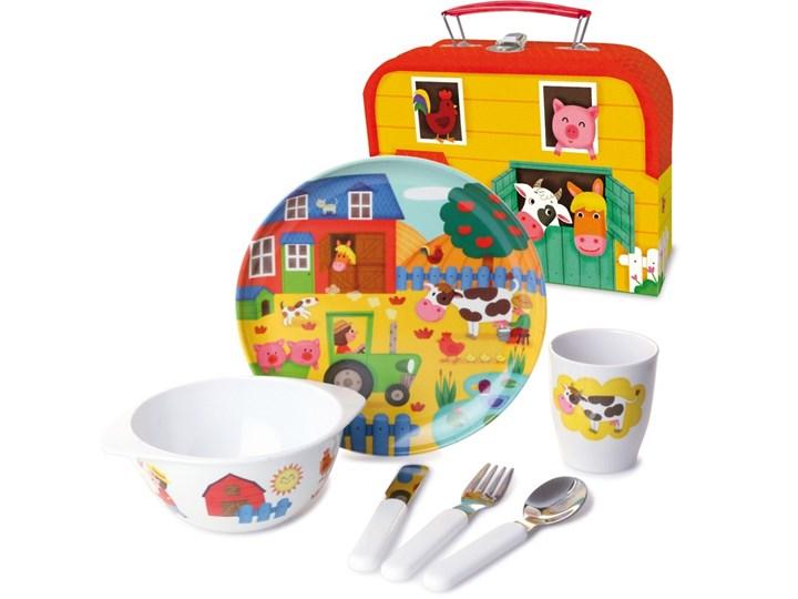 Zestaw Obiadowy Farma W Walizce Vilac Naczynia Dla Dzieci