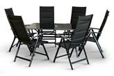 Komplet Mebli RAP Z Aluminium 6 Krzeseł + Stół