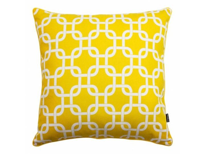 żółta Poduszka Dekoracyjna Trell 45x45 Cm