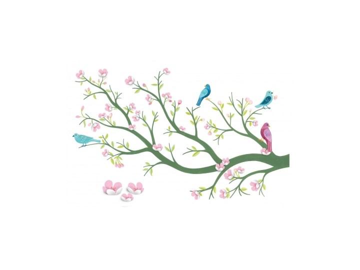 Naklejki Dekoracyjne Na ścianę Kwitnące Drzewo Wiśni