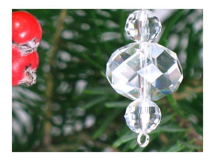 Kryształki Szklane Ozdoby świąteczne Bombki Na Choinkę Crystal 1szt