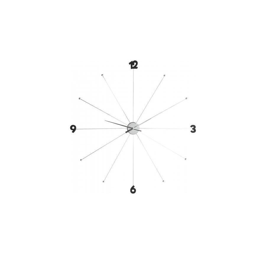 Kare Design Zegar Wisz Cy Like Umbrella Chromowy 30199 Zegary Zdj Cia Pomys Y Inspiracje