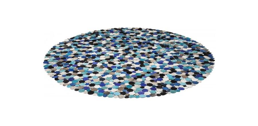 Dywan Circle I Niebieski Kare Design 36701 Dywany Zdj Cia Pomys Y Inspiracje Homebook