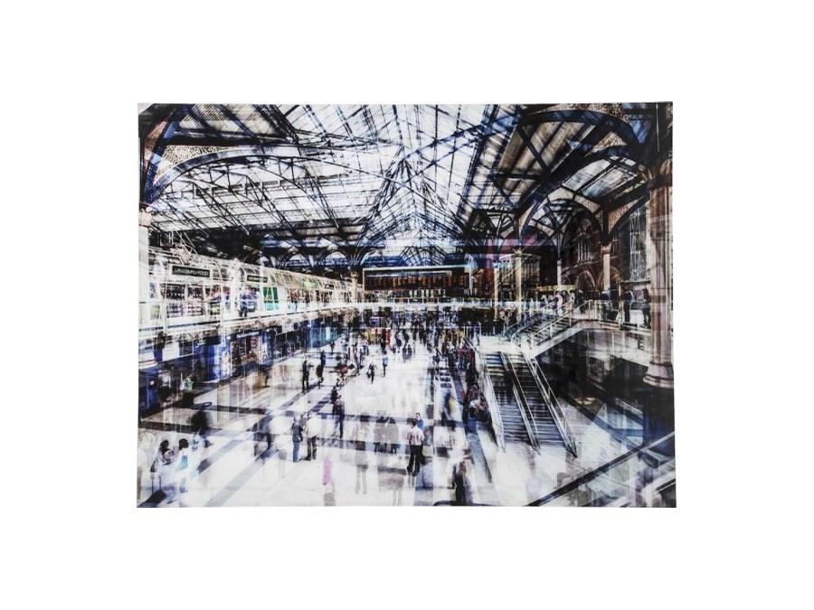 Kare Esstisch Railway ~ Kare Design Obraz Train Station  36816  Obrazy  zdjęcia, pomysły, inspirac