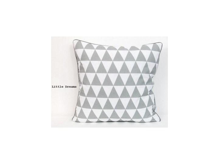 LITTLE DREAMS - Poszewka dekoracyjna Kwadratowe 40x40 cm Bawełna tkanina 50x50 cm Wzór Geometryczny