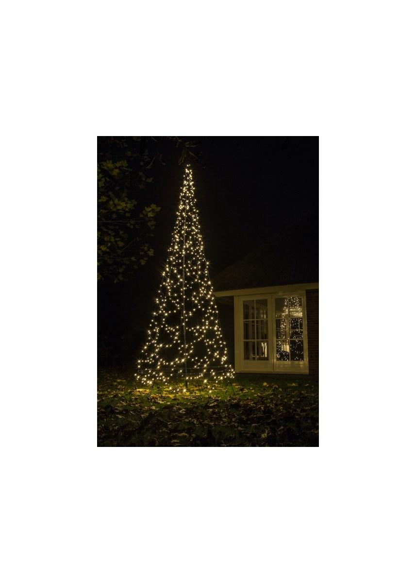 Tree 42m 640 Flash Warm White Led
