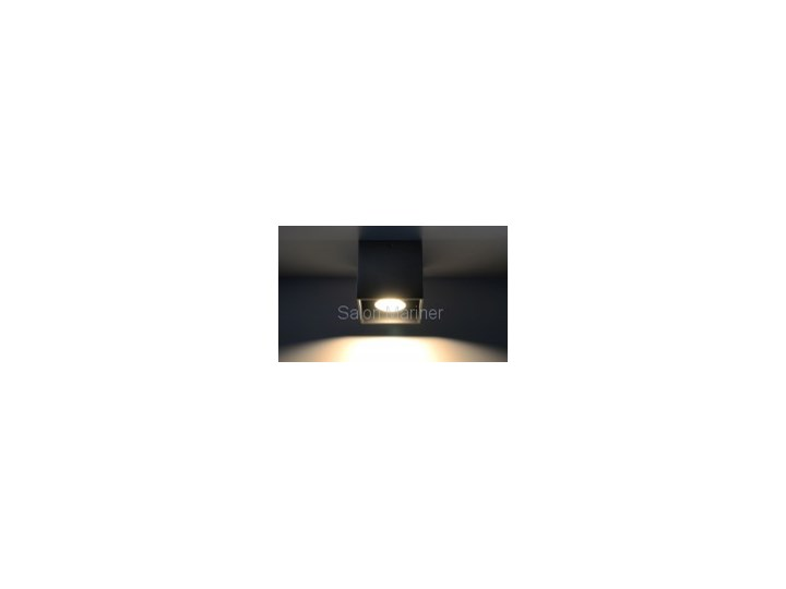 Sollux Lampa Plafon QUAD 1 czarny SL.0022 Oprawa Sufitowa Idealna do Salonu Korytarza Lampa Minimalistyczne Oświetlenie Gu10 LED Oprawa stropowa Oprawa halogenowa Kwadratowe Oprawa led Kategoria Oprawy oświetleniowe