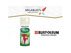 Rust-Oleum Paint For Plastic farba do plastiku w aerozolu 355ml