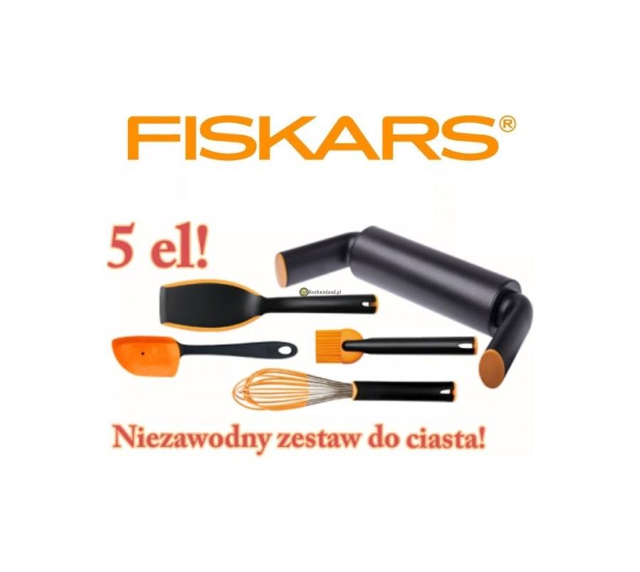 Przybory Akcesoria Kuchenne Fiskars Zestaw Do Ciasta 5 El