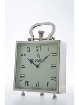 Kare Design Kare Design London Zegar Stoj Cy Srebrny 30147 Zegary Zdj Cia Pomys Y