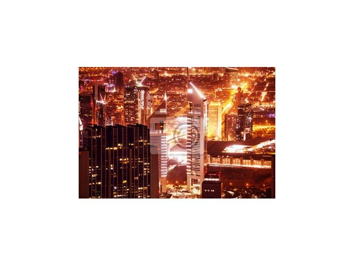 Plakat Dubai Miasta Nocą