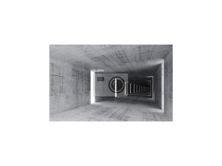 97869971ec30b3 Fototapeta Renderowania 3D, abstrakcyjne tło puste wnętrza betonu ...