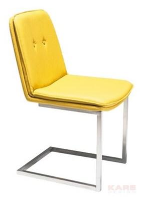 Kare Design Design & the City Diner Krzesło Żółte (77166)
