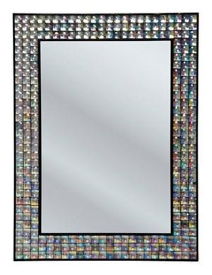 Kare design spiegel crystals
