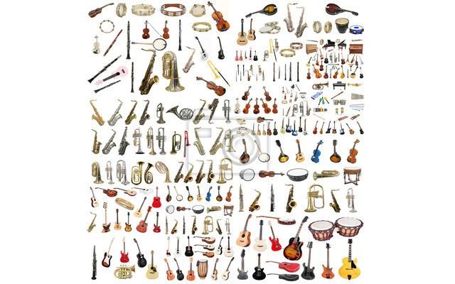 Plakat Instrumenty Muzyczne Plakaty Zdjęcia Pomysły Inspiracje