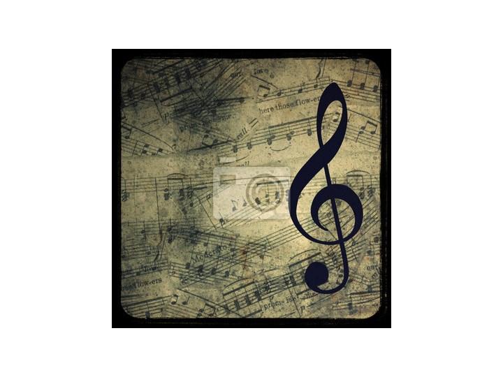 Plakat Rocznika Tło Muzyczne