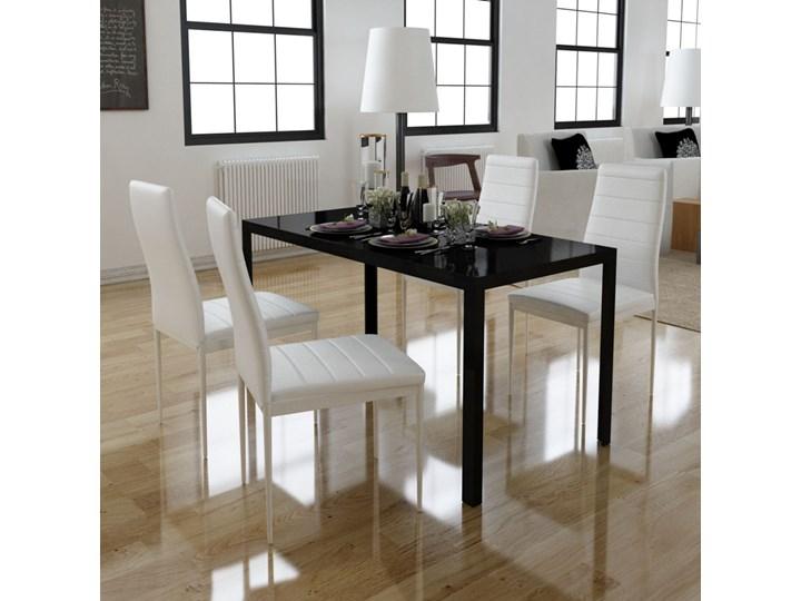 242273 Zestaw Do Jadalni 4 Krzesła 1 Stół Nowoczesny Design