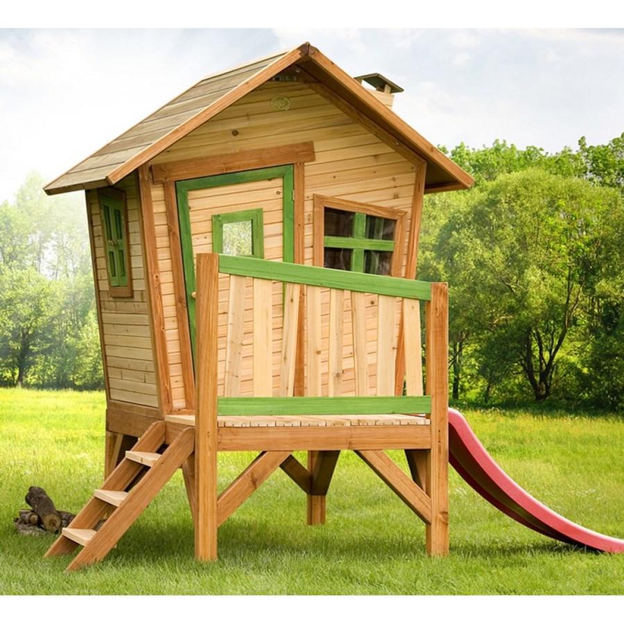 Axi drewniany domek do zabaw dla dzieci robin domki dla for Bauhaus case in legno