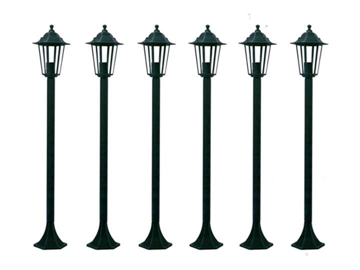 Vidaxl Lampa Ogrodowa Stojąca Zestaw 6 Sztuk 110 Cm Lampy