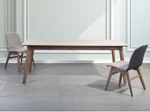 Stół do jadalni, kuchni, salonu brąz - 200x100 cm - MADOX