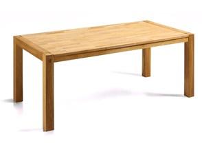 Stylowy stół dębowy kuchnia salon jadalnia 150cm jasny NATURA