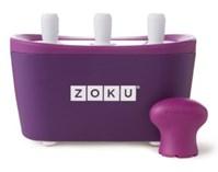 Maszynka do lodów Zoku Quick Pop, fioletowa