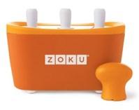 Maszynka do lodów Zoku Quick Pop, pomarańczowa