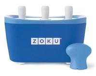Maszynka do lodów Zoku Quick Pop, niebieska