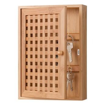 Wieszak na klucze - szafka bambusowa, ZELLER