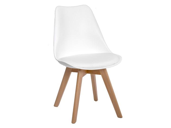 Krzesło LEON DĄB biały