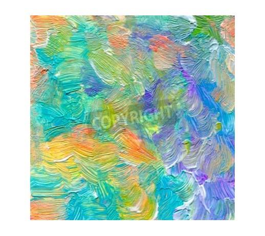 Obraz Streszczenie Teksturowane Akrylowe Akwarele Ręcznie Malowane