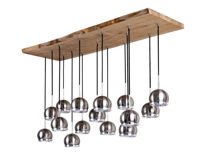 BALL WOOD żyrandol 15 x 5,5W LED GU10 SPOT LIGHT 5031574