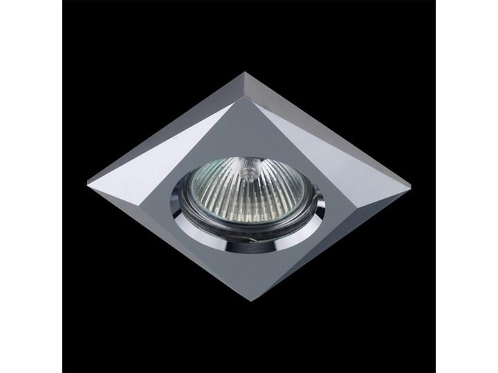 DOWNLIGHT oczko - oprawa wpuszczana 1 x 50W GU10 PREZENT 71018 Oprawa stropowa Oprawa halogenowa metal Styl nowoczesny