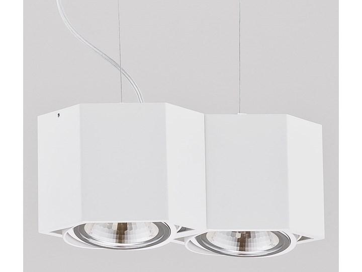 ESPRESSO LED W2 lampa wisząca 2 x 6W LED ARGON 738 Styl Nowoczesny Metal Lampa LED Ilość źródeł światła 2 źródła
