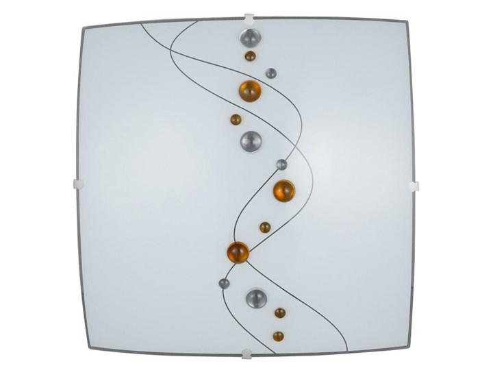 TAO plafon 2 x 60W E27 PRZENT 45090 F Styl klasyczny Metal Szkło Ilość źródeł światła 2 źródła