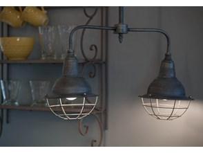 Wisząca Industrialna Lampa Loft Skandi ALURO MAZINE