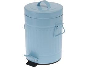 Kosz na śmieci 3L - niebieski