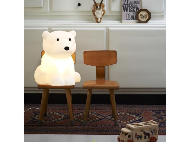 MrMaria :: Lampa Nanuk Lampa biurkowa drewno Wzór z nadrukiem