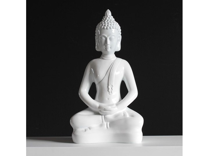 """Deko figurka  """"Siedzacy Budda"""". Tworzywo sztuczne Buddha Wzór Orientalny"""