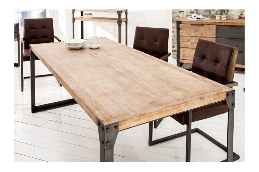 st z litego drewna akacji factory i 160 cm sto y kuchenne zdj cia pomys y inspiracje. Black Bedroom Furniture Sets. Home Design Ideas