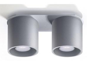 Lampa sufitowa / plafon ORBIS 2 GREY, SL.0055