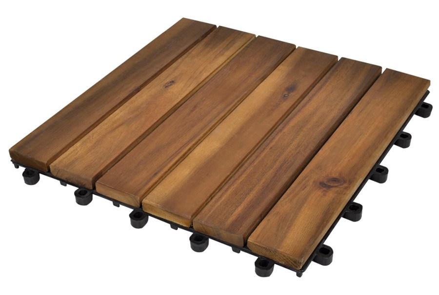 271790 drewniane p ytki tarasowe 30 x 30 cm akacja 20 w zestawie deski tarasowe zdj cia. Black Bedroom Furniture Sets. Home Design Ideas