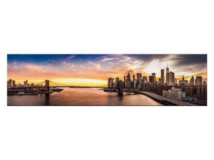 Obraz Glasspik Manhattan 30 Cm X 115 Cm Obrazy Zdjęcia Pomysły
