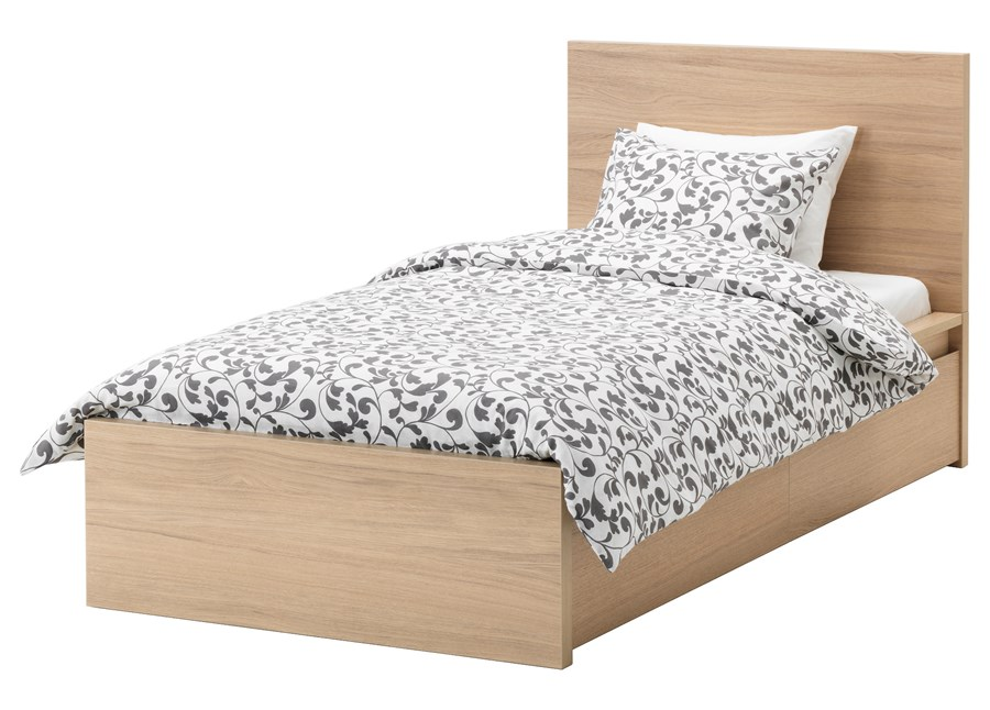 malm rama ka wysoka 2 pojemniki 120x200 cm ikea ka do sypialni zdj cia pomys y. Black Bedroom Furniture Sets. Home Design Ideas