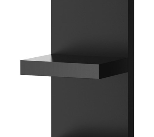 lack p ka cienna czarny 30x190 cm ikea szafki i. Black Bedroom Furniture Sets. Home Design Ideas