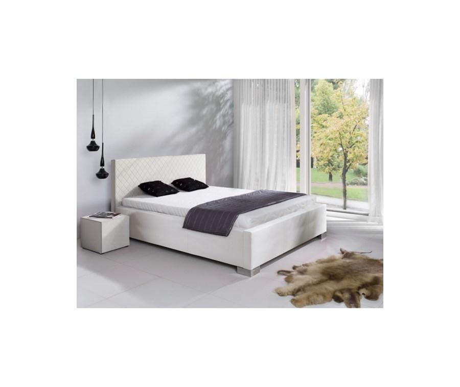 łóżko Trendy Białe 160x200 Cm łóżka Do Sypialni Zdjęcia Pomysły