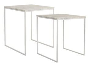 hvidt firkantet sofabord